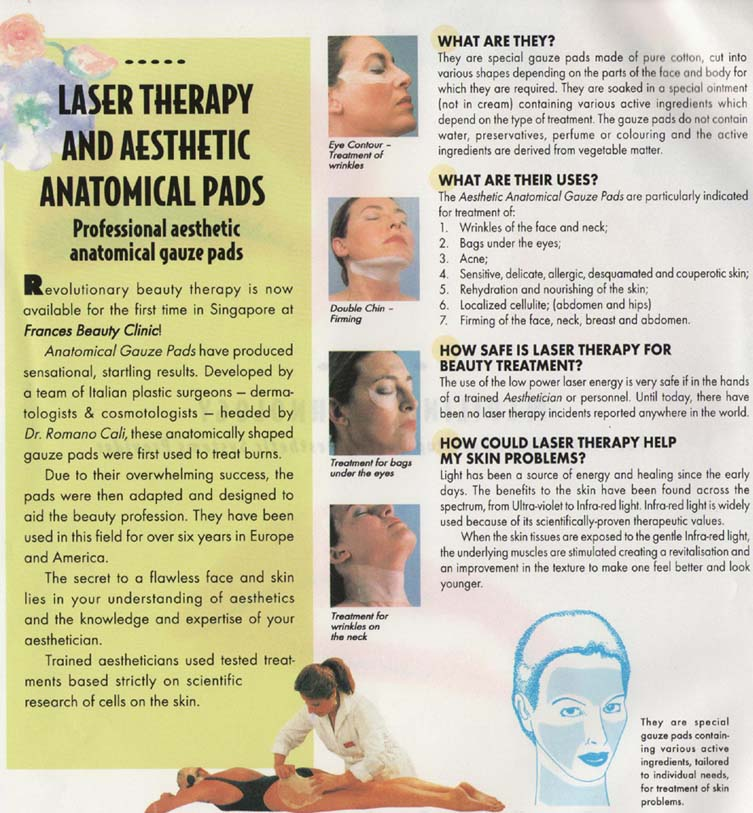 laser acupuncture centre microdermoabrasion brochure